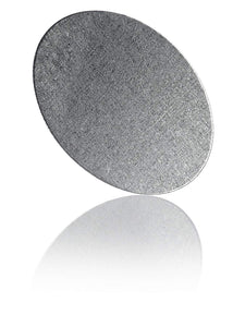 20 Round Metal Disks - 1 Inch Diameter, 0.012 Inch Thickness