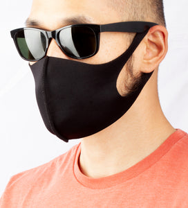 Anti Dust Face Mask Cover - Black