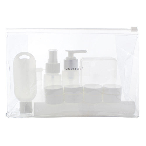Deluxe TSA Compliant Travel Set (12-Piece)