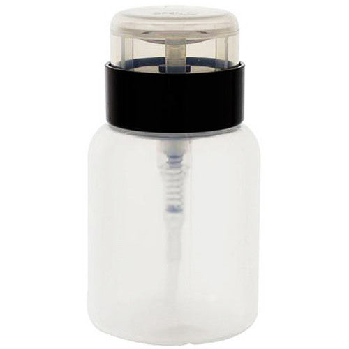 Clear Plastic One Touch Dispener Bottle with Twist Lock Flip Cap - 5 oz / 150 ml