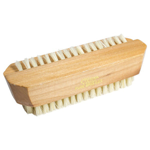 Double Sided Fine Wood Nail Brush