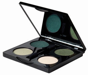 Empty Eyeshadow Butterfly Palette - Black