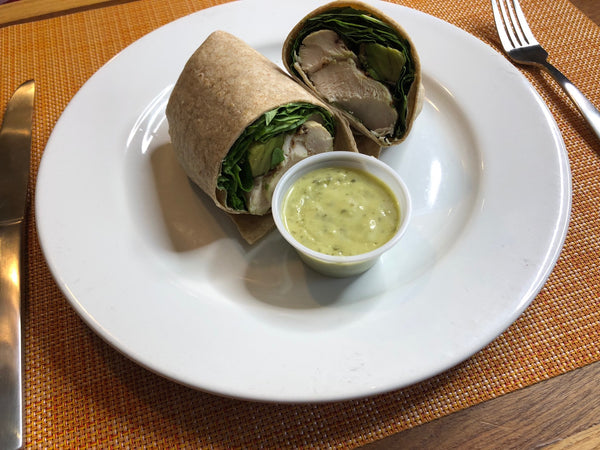Grilled Chicken Whole Wheat Wrap