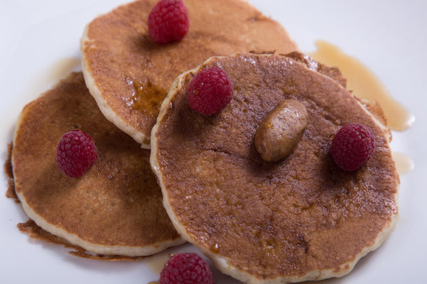 P28 White Chocolate Protein Pancakes