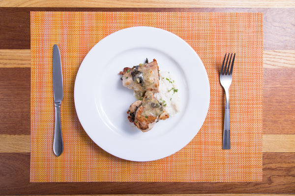 Mediterranean Stuffed Chicken