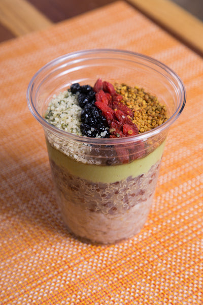 Seedy-Licious Quinoa Oat Cup