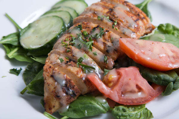 Simply Grilled Chicken Salad