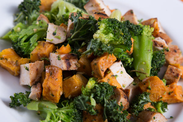 Sweet Potato Veggie Chicken 2.0