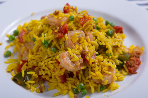 Chef's Saffron Shrimp Paella