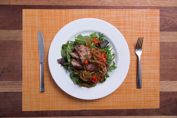 Grilled Fajita Steak Salad