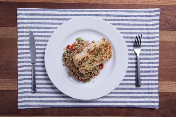 Coconut Crusted Cod
