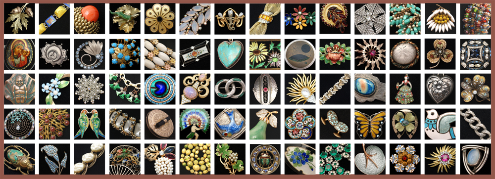 Offering Vintage, Antique, Costume, Designer, Fine, Kitsch and Collectible Jewelry