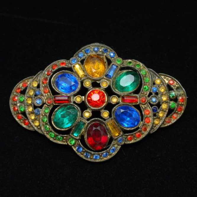 Color in Costume Jewelry: Multi-Colored