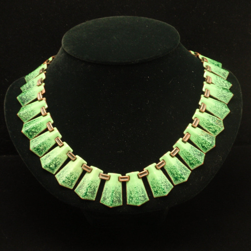 Color in Costume Jewelry: Green