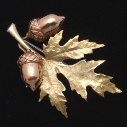 A Celebration of Earth Day: Leaves and Trees in Costume Jewelry