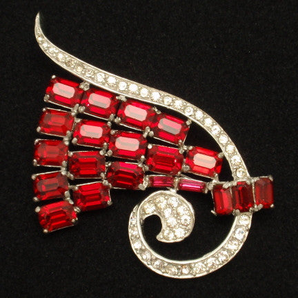 Color in Costume Jewelry: Red