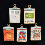 Packs of Cigarettes Vintage Charms