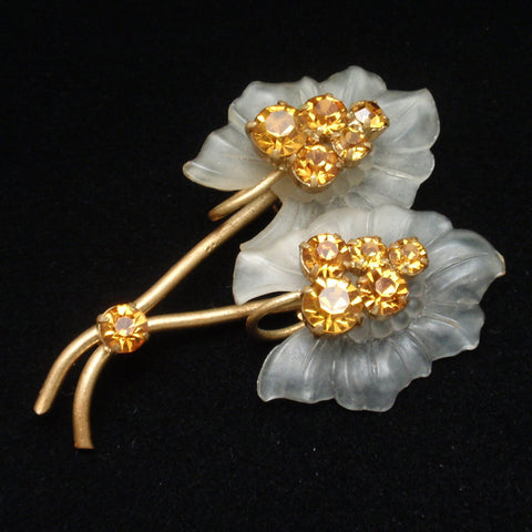 Austria Flower Pin