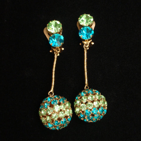 Austrian Drop Earrings