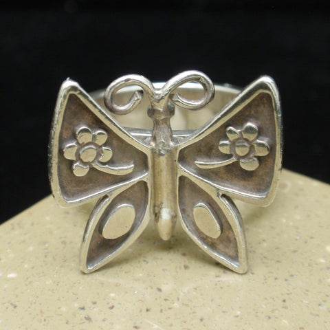 James Avery Ring Mariposa Butterfly Sterling Silver