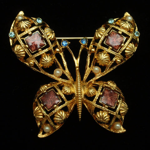 Avon Butterfly Pin
