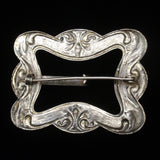 Buckle Shaped Sash Pin Vintage