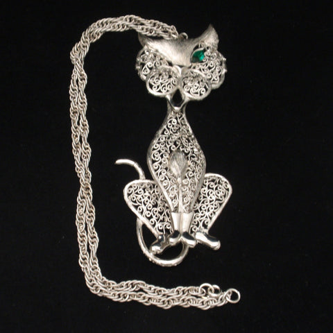 Articulated Cat Necklace