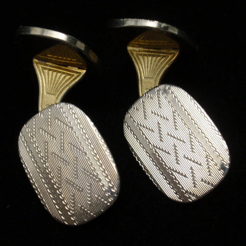 WG Clark Cuff Links