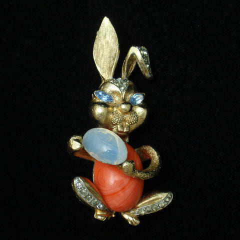Coro Rabbit Easter Pin
