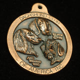 Dachshund Club of America Medallion Fob