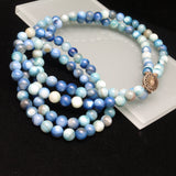 Dyed Agate Necklace Strand