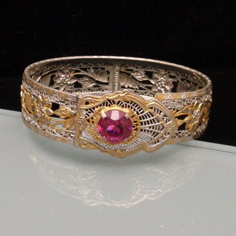 Filigree Bangle Bracelet