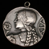 French Silver Medallion