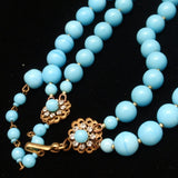 Miriam Haskell Necklace Bracelet Set Vintage