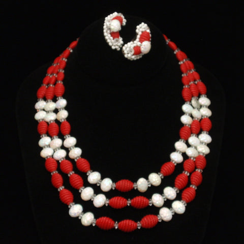 Hobe Necklace and Earrings Set