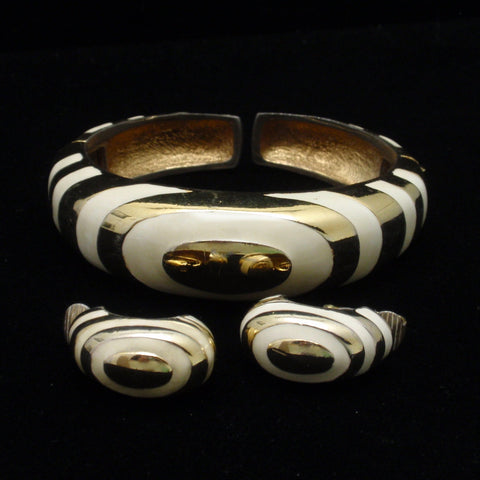 Kenneth Jay Lane Bracelet and Earrings