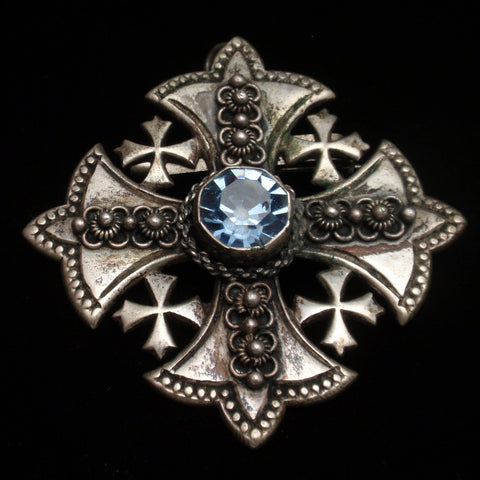 Jerusalem Cross Pin
