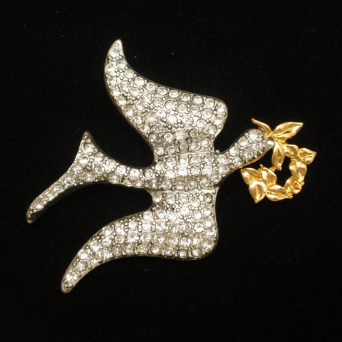 Monet Dove Pin