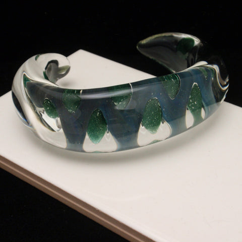 Contemporary Glass Bracelet