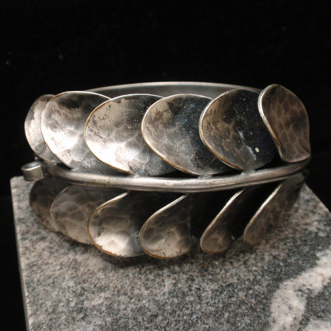 Arts & Crafts Hammered Bracelet