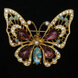 Art Butterfly Pin
