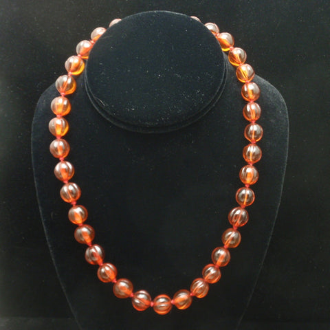 Amber Tone Necklace