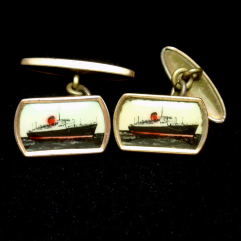 Antique Cuff Links