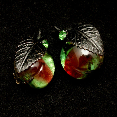 Austrian Fruit Earrings