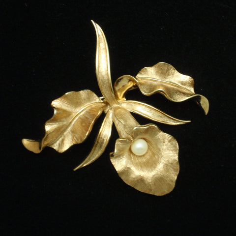 Boucher Orchid Pin
