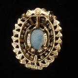 Cameo Brooch Pin Oval by Gerrys