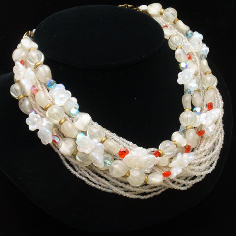 Multi-Strand Vintage Necklace
