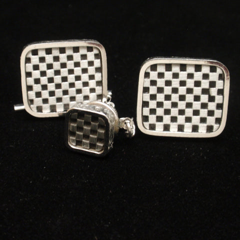 Dante Cuff Links and Tie Tack Set