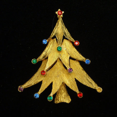JJ Christmas Tree Pin