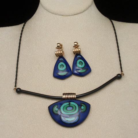 Eisenberg Artist Series Necklace and Earrings Set